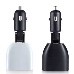 2 USB High Tech Display Car Charger for Mobile Phone pictures & photos