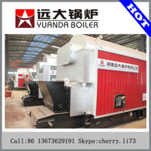 Manufacturer Price Dzl 2.8-4.2MW Hot Water Boiler by Coal/Wood Fired pictures & photos
