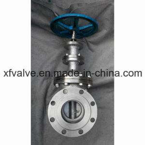 DIN Standard Stainless Steel Non-Rising Stem Gate Valve pictures & photos