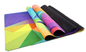 Colorful Printed Yoga Mat, with Free Carrying Strap pictures & photos
