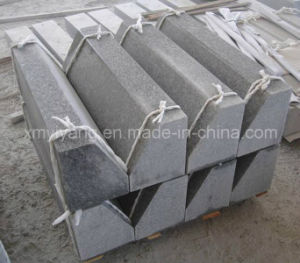 Flamed Bush Hammered Stone Granite Curbstone/Curved Stone/Kerbstone pictures & photos