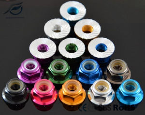 RC Model Aluminum Nylon Flange Lock Nut