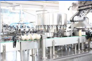 Yoghourt Filling Aluminum Foil Sealing Machine pictures & photos
