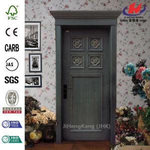 Craftsman Solid Core Good Luxury Wooden Door pictures & photos