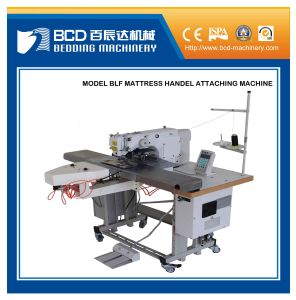 Mattress Handle Strap Embroidering/Tacking Machine Mattress Handle Machine (BLF) pictures & photos