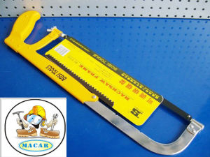 Steel Hacksaw Blade, Locking Hacksaw Frame, Safety Hand Saw for Wood pictures & photos