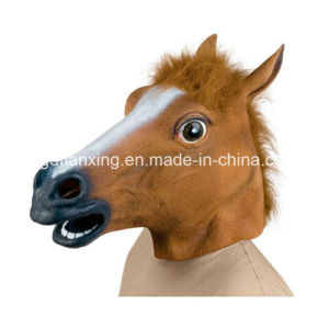 Newly Scary Horse Halloween Mask Horror Party Mask Creepy Horse Mask pictures & photos