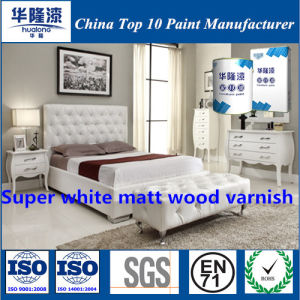 Hualong Super White Matt Wood Varnish PU Paint/Coatings pictures & photos