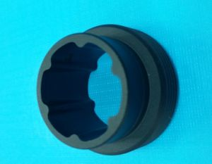 High Precision CNC Machining Prototype Part with Natural Anodizing pictures & photos