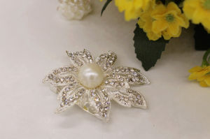 Professional Fashion Design Rhinestone Crystal Brooch for Wedding (TB004) pictures & photos