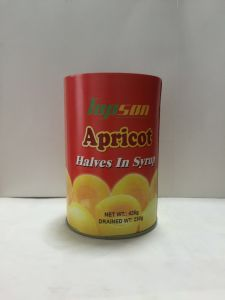 Canned Fruits Canned Apricot Halves in Light Syrup pictures & photos