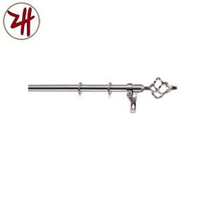 New Design Aluminum & Rion Curtain Pipe Rod Track (ZH-8812)