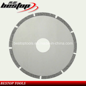 Electroplated Diamond Cutting Disc for Ceramic Tiles pictures & photos