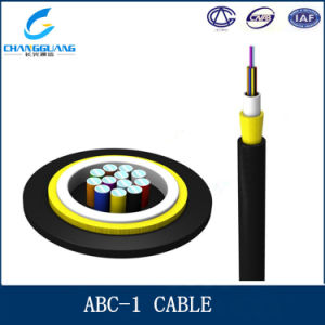 Access Building Optical Fiber Cable Indoor Outdoor 2 Core Fiber Optic Cable ABC-I pictures & photos