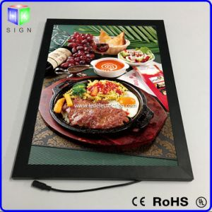 Aluminium Advertising Frames with Picture Frame Box for Restaurant Menu Signs pictures & photos