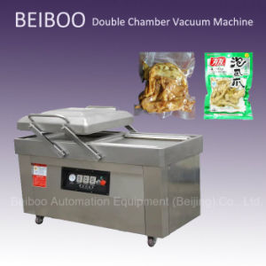 Double Chamber Vacuum Sealing Packaging Machine (RS-500) pictures & photos