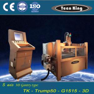 Teenking 5 Axis 3D Head Waterjet Cutting Machine