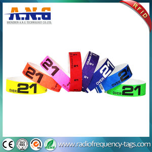 Paper Tyvek RFID Wristbands Are The Cheapest Way to Identify Your Paid Guests pictures & photos