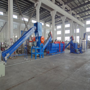 PE PP Waste Plastic Film Recycling Washing Drying Production Machine
