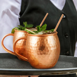 Stainless Steel Moscow Mule Solid Copper Mugs pictures & photos