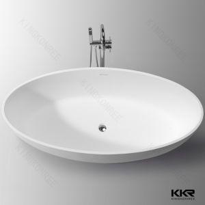 Kkr Freestanding Bathtub Solid Surface Bathtub White Bath pictures & photos