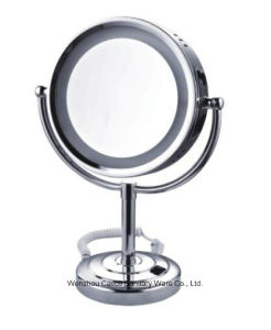 Bathroom Decoration Stainless Steel+Brass Magnifying Mirror
