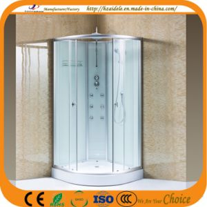 Sanitary Ware Bathroom Tempered Glass Shower Cabin (ADL-8605) pictures & photos