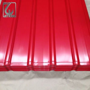 PPGI Color Coated Galvanized Corrugated Metal Roofing Sheet pictures & photos