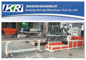 Plastic Pelleting Machine Internal and External Cable Material Extruder Making Machine pictures & photos