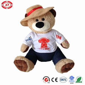 Singing and Moving Electric Custom Fluffy Toy Plush Teddy Bear pictures & photos