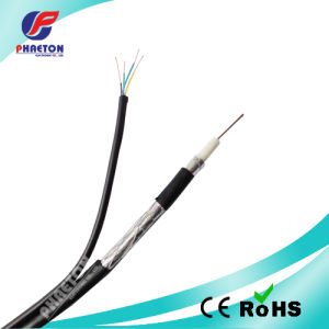 RF Coaxial Cable for RG6 Cable with Telephone Wire pictures & photos
