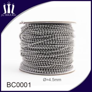 Eco-Friendly 4.5mm Iron Metal Ball Chain pictures & photos