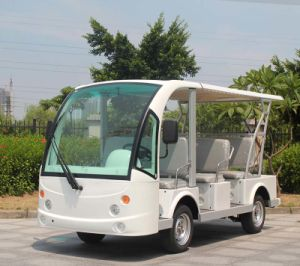 Ce Approved 8 Seater Electric Sightseeing Shuttle Car (DN-8F) pictures & photos