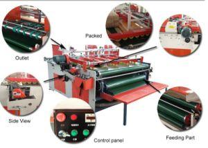 Semi Automatic Corrugated Cardboard Box Folder Gluer Machine pictures & photos
