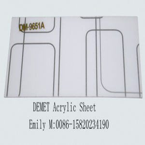 Interior Decoration - Demet Acrylic Sheet (DM-9651) pictures & photos