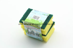 Multipurpose Microfiber Square Car Washing Kitchen Sponge pictures & photos