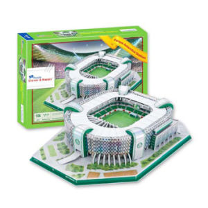 Paper Material 106PCS Stadium Kids Toy 3D Puzzle Game 10173061 pictures & photos
