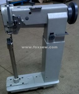 High Post Bed Heavy Duty Walking Foot Sewing Machine for Luggage Case pictures & photos