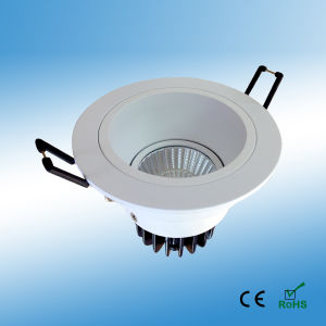 7W Dimmable COB Downlight with 3 Years Warranty