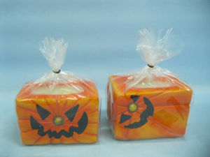 Halloween Candle Shape Ceramic Crafts (LOE2368-9z) pictures & photos