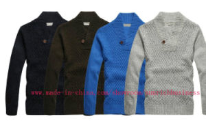 Men′s Knitted Sweater Pullover (MY012) pictures & photos