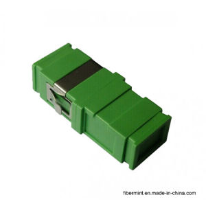 Sc Single Mode Fiber Optic Adaptor No Flange