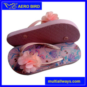Summer Fashion Beach PE Slippers for Women pictures & photos