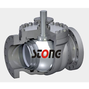 Trunnion Mounted Top Entry Ball Valve with 900lb pictures & photos