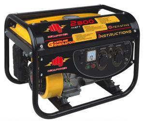 2500 Watt AVR Portable Camping Gasoline Power Generator