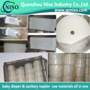 Sanitary Napkin Raw Materials Fluff Pulp Absorbent Paper pictures & photos