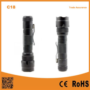 C18 High Power 3.7V Rechargeable Hunting Fishing Camping Flashlight pictures & photos