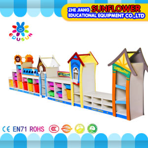 Wooden Toys Rack, Children Educational Toy Cabinet (XYH-12135-3)