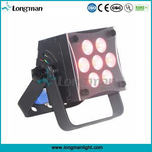 CE 7*10W Rgbw DMX LED Flat PAR Uplight for Stage pictures & photos