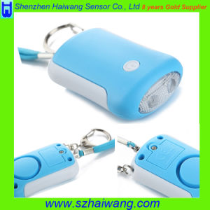 OEM Personal Alarm with Keychain Torch Light Promotion Gift pictures & photos